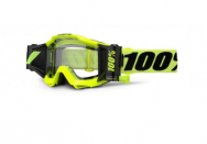Маска кроссовая 100% Accuri FORECAST fluo/Yellow Clear Lens